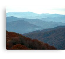 Great Smoky Mountains National Park, Tennessee Canvas Print
