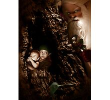 Santa Claus is coming to town Photographic Print