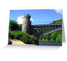 Craigellachie Bridge III Greeting Card