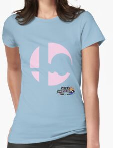 Super Smash Bros - Kirby Womens Fitted T-Shirt
