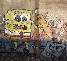 Spongebob Tagged-pants...  by Brad Hutchings