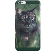"""Chat - Cat """" Tchink boom"""" 02 (c)(t) ) by Olao-Olavia / Okaio Créations 300mm f.2.8 canon eos 5 1989  iPhone Case/Skin"""