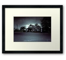The Texas Chainsaw Massacre  - Cele General Store #10 Framed Print