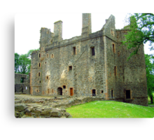 Huntly Castle II Canvas Print