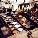 Tanners and Dyers Quarters, Fez, Morocco by Shulie1