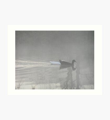A Black and White World Art Print