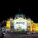 Flinders Street Station by melbourne