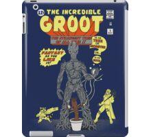 The Incredible Groot iPad Case/Skin