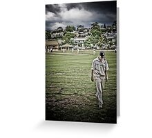 Outfield, 2008 Greeting Card