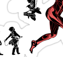 Titan Evolution Sticker