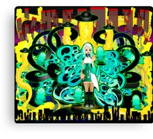 Cheese Attack Canvas Print
