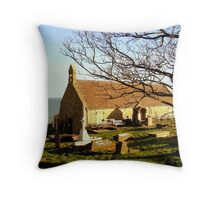 St. Tudno's Throw Pillow
