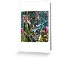 Flower Tub Fairies 3 Greeting Card