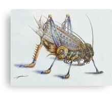 Metal Grasshopper Metal Print