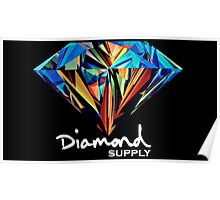 Diamond Supply Colourful Diamond Poster