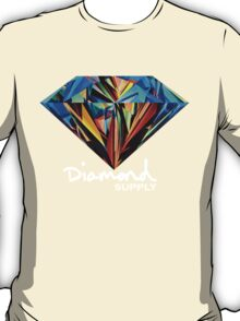 Diamond Supply Colourful Diamond T-Shirt