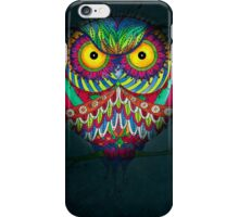 """Angry Owl by Night"" iPhone Case/Skin"