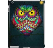 """Angry Owl by Night"" iPad Case/Skin"
