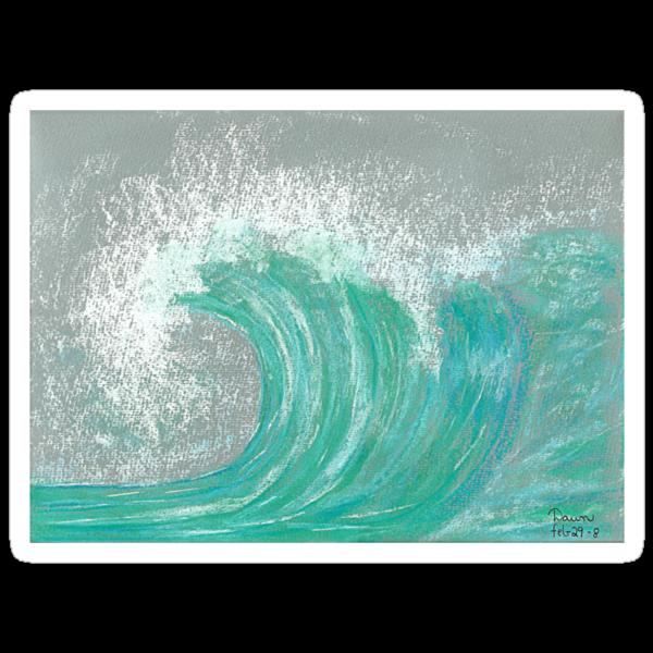 Buttercurl Wave by Dawn B Davies-McIninch