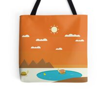 Swimming with the Ducks Tote Bag