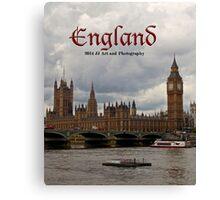 England - Big Ben and Parliament Canvas Print