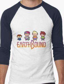 Earthbound Gang Men's Baseball ¾ T-Shirt