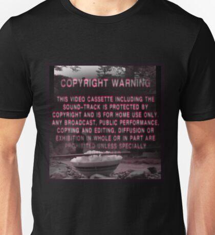 Copyright Warning Unisex T-Shirt