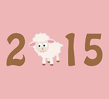2015 - Cute sheep by Eggtooth