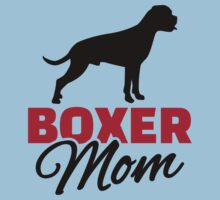 Boxer Mom One Piece - Short Sleeve