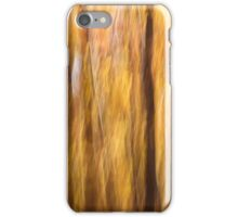 Yellow Forest Abstract  iPhone Case/Skin