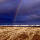Rainbow in a Sandstorm, St Andrews II by Rebecca Silverman