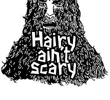 Hairy ain't scary by cursis