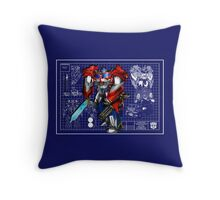 Beast Hunters Optimus Prime  Throw Pillow