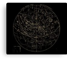 Smith's Illustrated Astronomy - Visible Heavens from July 22nd to October 31st - Page 71 Canvas Print