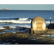 Cowrie Hole @ Newcastle Beach, Australia Photographic Print