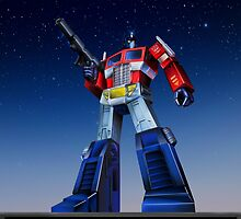 Optimus Prime by Draconis130
