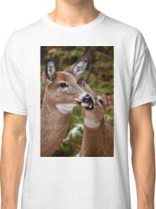 White Tailed Deer and Baby Classic T-Shirt