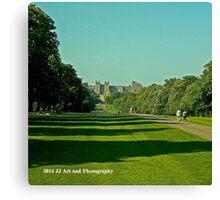 England - Windsor Castle Canvas Print