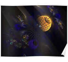 Abstract Space Poster