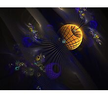Abstract Space Photographic Print