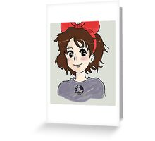 kikis delivery service  Greeting Card