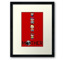 iPhone Mother Framed Print
