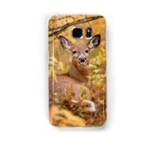 White Tail Deer Relaxing Samsung Galaxy Case/Skin
