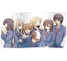 sakurasou no pet na kanojo - group picture Poster