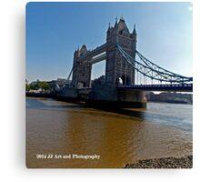 England - Tower Bridge Canvas Print