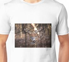 White Tailed Deer Buck In Woods Unisex T-Shirt