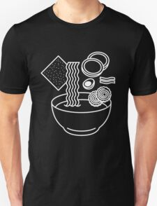 Ramen Line Drawings Unisex T-Shirt