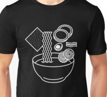 Ramen Line Drawings Unisex T-Shirt