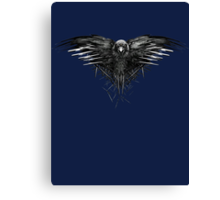 GOT third eyed raven Canvas Print