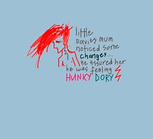 'He Assured her he was feeling Hunky Dory' Womens Fitted T-Shirt